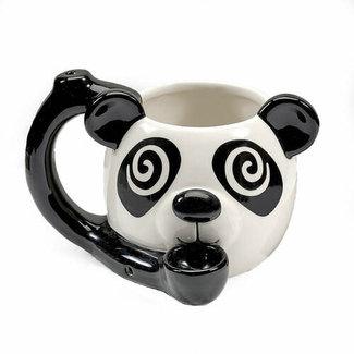 Fashion Craft Premium Roast & Toast Ceramic Mug w/ Pipe - Panda