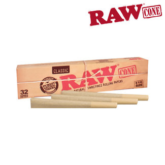 Raw Raw Classic Natural Unrefined 1 1/4 Cones