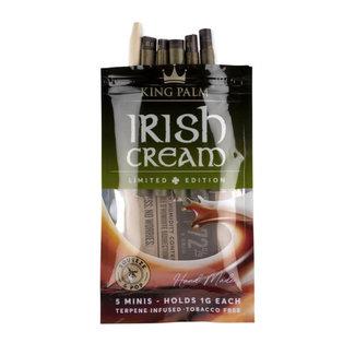 King Palm King Palm Hand-Rolled 5 Minis Irish Cream