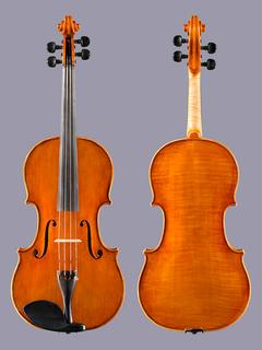 """16.5"""" Jeff Lee Manthos viola, Portland Oregon, 1992"""