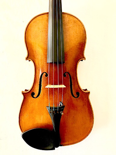 "Unlabeled 15.5"" German viola (with 1920 date penciled inside)"