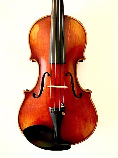 "Great Wall Great Wall 14"" antiqued intermediate viola"