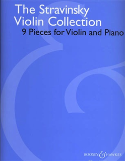 HAL LEONARD Stravinsky, Igor: The Stravinsky Violin Collection - 9 Pieces for Violin & Piano