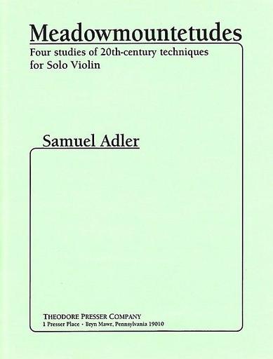 Carl Fischer Adler, Samuel: Meadowmountetude (violin)