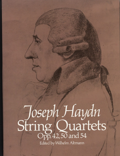Dover Publications Haydn, F.J. (Altmann): (Dover Score) String Quartets, Op.42, 50, and 54 (string quartet)