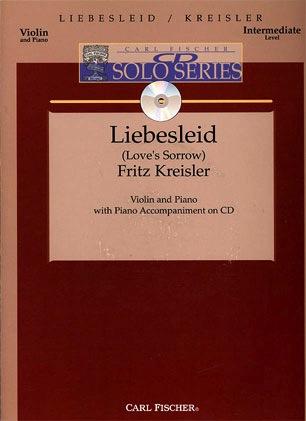 Carl Fischer Kreisler, Fritz: Liebesleid (violin, Piano, CD)