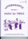 Last Resort Music Publishing Kelley, Daniel: Music for Three Intermediate Vol.1 (violin 1)
