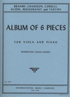 International Music Company Borissovsky, Conus, Katims: Album of Six Pieces (viola & piano)