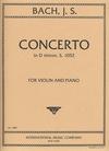 International Music Company Bach, J.S. (Reitz): Concerto in d minor (violin & piano)