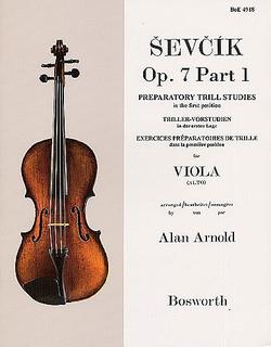HAL LEONARD Sevcik, O. (Arnold): Preparatory Studies in Trilling Op.7 Bk.1 (viola)