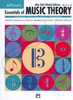Alfred Music Surmani, Farnum Surmani, & Manus: Essentials of Music Theory - Alto Clef, Bk.2 (viola) Alfred Music
