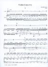 HAL LEONARD Glass, Philip: Violin Concerto (violin & piano)