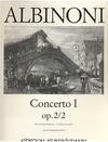 Albinoni, T.: Concerto No.2 Op.2/2 (violin & piano)