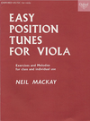 Oxford University Press Mackay, N.: Easy Position Tunes for Solo Viola