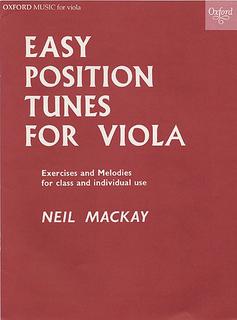 Oxford University Press Mackay, N.: Easy Position Tunes for Solo Viola