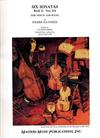LudwigMasters Gavinies, Pierre: Six Sonatas Bk.2 #4-6 (violin & piano)