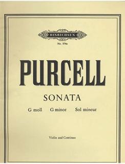 Purcell, Henry: Sonata in G minor (violin & piano)