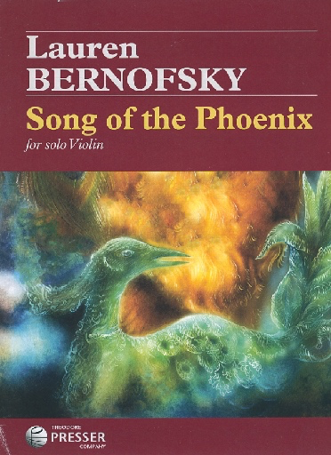 Carl Fischer Bernofsky, Lauren: Song of the Phoenix (violin solo)