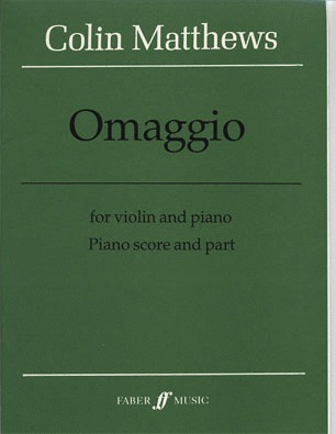 Alfred Music Matthews, Collin: Capriccioletto & Omaggio (violin & piano)