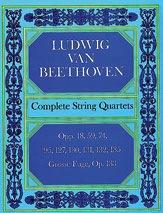 Dover Publications Beethoven, L.V: (Dover Score) Complete String Quartets (string quartet)