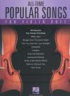 HAL LEONARD Hal Leonard: (collection) All-Time Popular Songs for Violin Duet (2 violins)