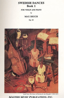LudwigMasters Bruch, Max: Swedish Dances, Op.63 V.1 (violin & piano)