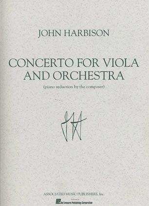 HAL LEONARD Harbison, John: Viola Concerto