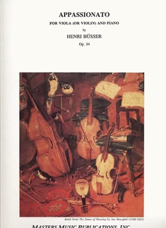 LudwigMasters Busser, Henri: Appassionato Op.34 (viola or violin and piano)