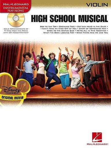 HAL LEONARD High School Musical (violin & CD)
