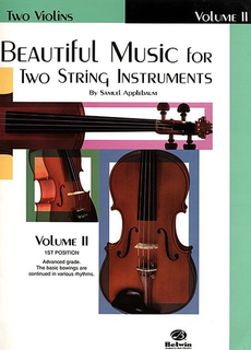 Alfred Music Applebaum, S.: Beautiful Music for Two String Instruments Book 2 (2 violins) Alfred