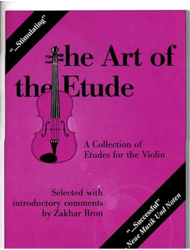 Carl Fischer Bron: Art of the Etude (violin)