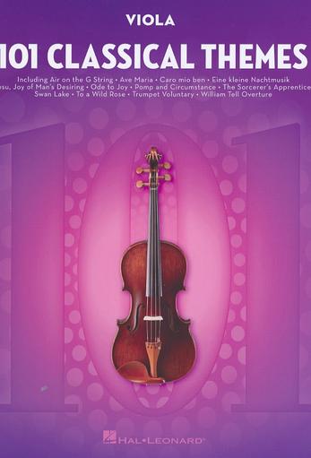 HAL LEONARD Hal Leonard: (Collection) 101 Classical Themes (viola)