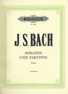 PETERS Bach, J.S. (Flesch): Six Solo Sonatas and Partitas (violin solo) PETERS
