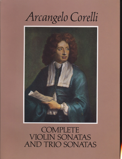 Dover Publications Corelli, A.: (Dover Score) Complete Violin Sonatas and Trio Sonatas (mixed ensemble)