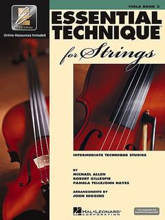 HAL LEONARD Allen, Gillespie, & Hayes: Essential Technique, Bk.3 (viola, online resources included)