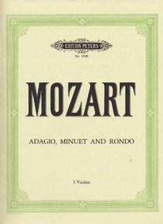 Mozart, W.A.: Adagio, Minuet & Rondo (3 Violins)