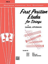 Alfred Music Applebaum, S.: First Position Etudes for Strings - (viola)