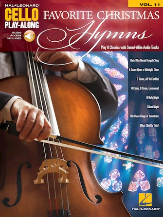 HAL LEONARD Leonard: Favorite Christmas Hymn vol.11 (cello) HAL LEONARD