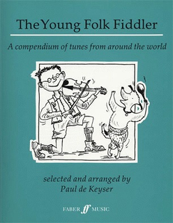 HAL LEONARD De Keyser: The Young Folk Fiddler-tunes from around the world (violin)