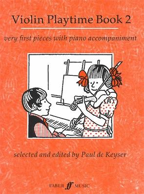 De Keyser, Paul: Violin Playtime 2-very first pieces (violin & piano)