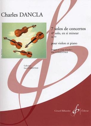 Carl Fischer Dancla, Charles: Fourth Solo in b minor (violin & piano)