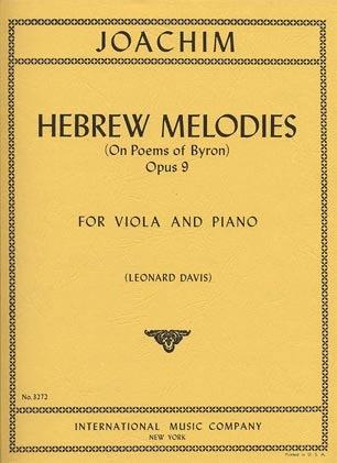 International Music Company Joachm, Joseph: Hebrew Melody Op.9 (viola & piano)
