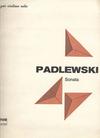 Carl Fischer Padlewski: Sonata for Solo Violin