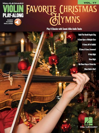 HAL LEONARD Hal Leonard: Favorite Christmas Hymns vol.77 (violin, audio) HAL LEONARD