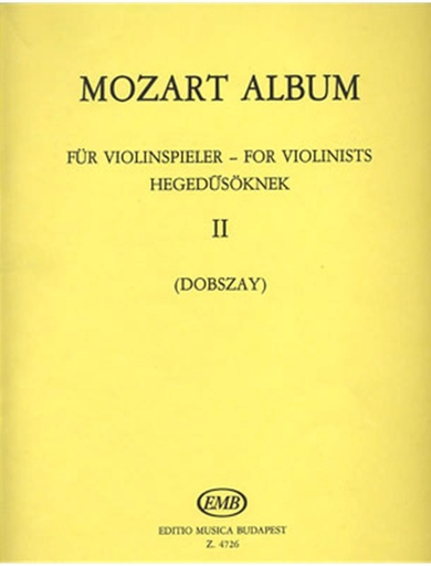 HAL LEONARD Mozart, W.A. (Dobszay): Duet Album