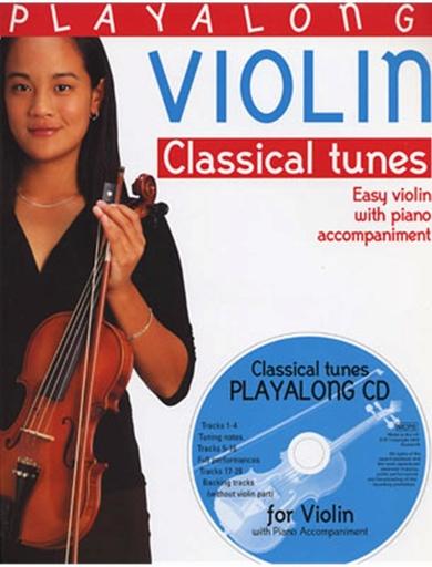 Bosworth Gedge, David: Playalong Violin Classical Tunes-Easy Violin w/ piano accompaniment