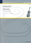 HAL LEONARD Debussy & Orledge: Nocturne (violin & piano reduction) Schott