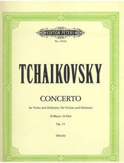 Tchaikovsky, P.I. (Flesch): Violin Concerto in D, Op.35 (violin & piano)