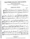 HAL LEONARD Joplin, S. (Silberman): 20 Favorite Solos & Duets with guitar chords (2 violins)