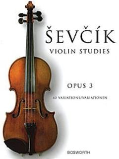 Schirmer Sevcik: Violin Studies, Op.3 - 40 Variations (violin)